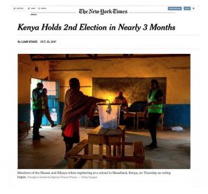Kenya Holds 2nd Election in Nearly 3 Months