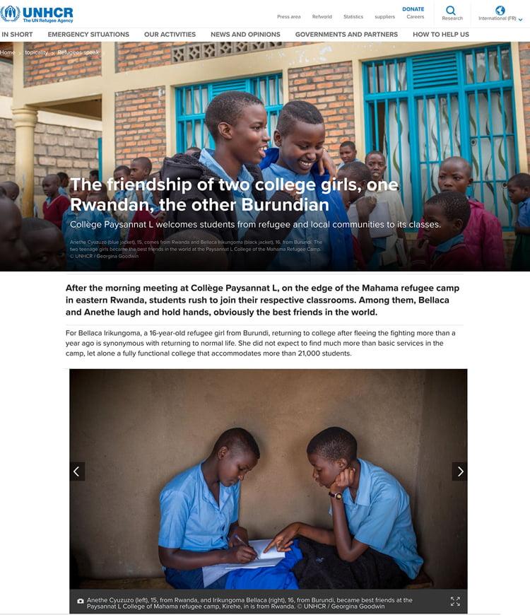 Rwandan Burundian Student Friends